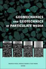 Geomechanics and Geotechnics of Particulate Media:  Proceedings of the International Symposium on Geomechanics and Geotechnics of Particulate Media, Ub