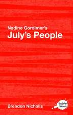 Nadine Gordimer's July's People:  Explorations in Narrative Thought Experiments, Evolution, and Game Theory