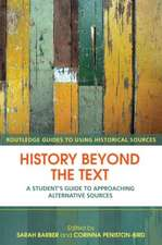 History Beyond the Text