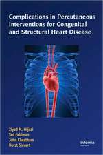 Complications During Percutaneous Interventions for Congenital and Structural Heart Disease