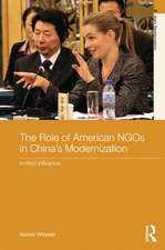 The Role of American NGOs in China's Modernization: Invited Influence