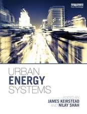 Urban Energy Systems