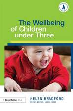 The Wellbeing of Children Under Three:  Towards a More Ambitious Partnership?