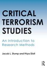Critical Terrorism Studies:  An Introduction to Research Methods