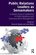 Public Relations Leaders as Sensemakers