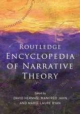 Routledge Encyclopedia of Narrative Theory