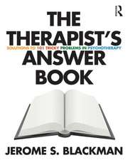 The Therapist's Answer Book