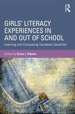 Girls' Literacy Experiences in and Out of School:  Learning and Composing Gendered Identities