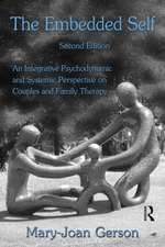 The Embedded Self:  An Integrative Psychodynamic and Systemic Perspective on Couplesand Family Therapy