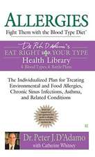 Allergies:  Fight Them with the Blood Type Diet