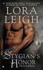 Stygian's Honor: A Novel of the Breeds