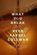 What You Break: A Gus Murphy Novel
