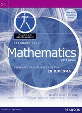 Standard Level Mathematics:  Developed Specifically for the IB Diploma