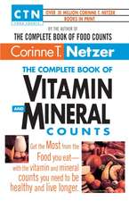 Complete Vitamin and Mineral Counts
