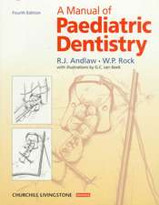 A Manual of Paediatric Dentistry
