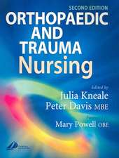 Orthopaedic and Trauma Nursing