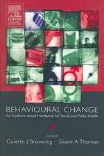 Behavioural Change: An Evidence-Based Handbook for Social and Public Health