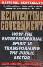 Reinventing Government:  The Five Strategies for Reinventing Government