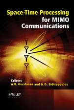 Space–Time Processing for MIMO Communications