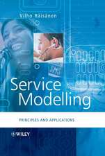 Service Modelling: Principles and Applications