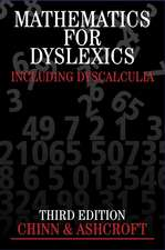 Mathematics for Dyslexics: Including Dyscalculia