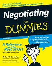 Negotiating for Dummies:  Reduce Your Risk and Keep Your Brain Healthy