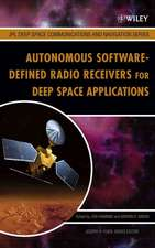 Autonomous Software–Defined Radio Receivers for Deep Space Applications