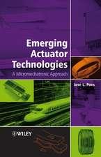 Emerging Actuator Technologies: A Micromechatronic Approach