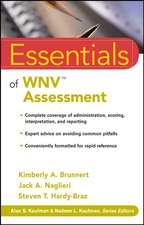 Essentials of WNV Assessment