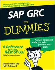 SAP GRC For Dummies