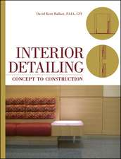 Interior Detailing: Concept to Construction
