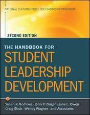 The Handbook for Student Leadership Development