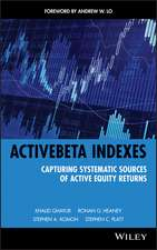 ActiveBeta Indexes: Capturing Systematic Sources of Active Equity Returns