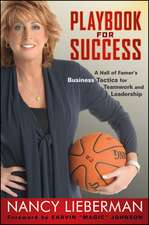 Playbook for Success: A Hall of Famer′s Business Tactics for Teamwork and Leadership