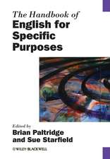 The Handbook of English for Specific Purposes