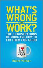 What′s Wrong with Work?: The 5 Frustrations of Work and How to Fix them for Good