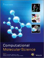 Computational Molecular Science