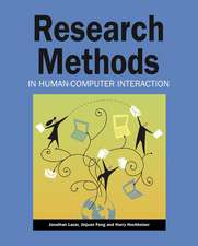 Research Methods in Human–Computer Interaction