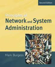 Principles of Network and System Administration