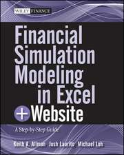 Financial Simulation Modeling in Excel: A Step–by–Step Guide + Website