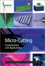 Micro–Cutting: Fundamentals and Applications
