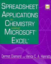 Spreadsheet Applications in Chemistry Using Microsoft Excel
