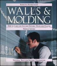 Walls and Molding: How to Care for Old and Historic Wood and Plaster