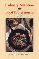 Culinary Nutrition for Food Professionals