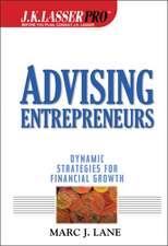 Advising Entrepreneurs: Dynamic Strategies for Financial Growth