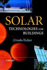 Solar Technologies for Buildings