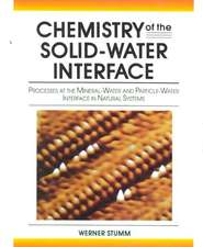 Chemistry of the Solid–Water Interface: Processes at the Mineral–Water and Particle–Water Interface in Natural Systems