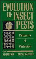 Evolution of Insect Pests: Patterns of Variation