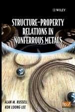 Structure–Property Relations in Nonferrous Metals