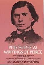Philosophical Writings of Peirce